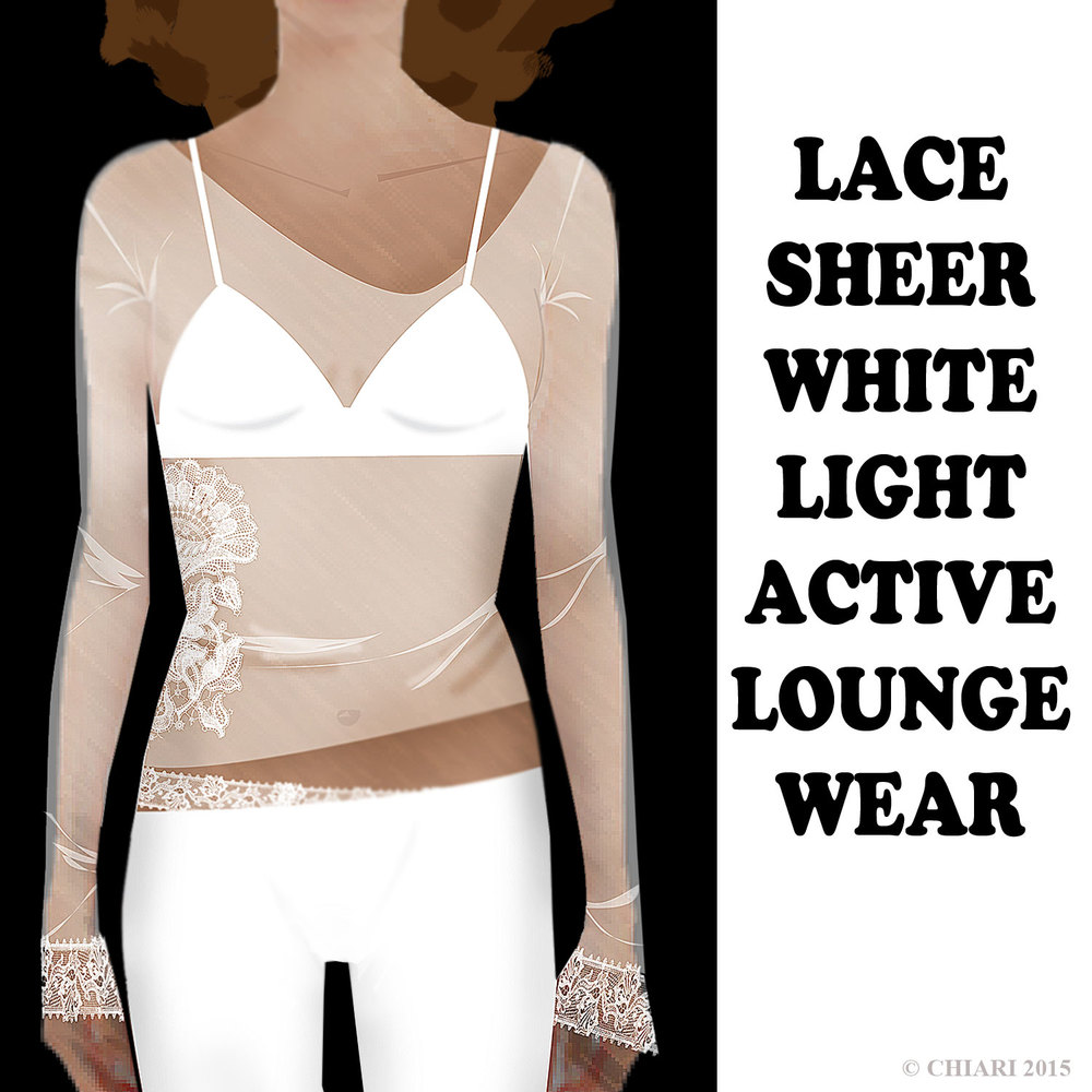 Lace Sheer Acitve Wear CHIARIstyle