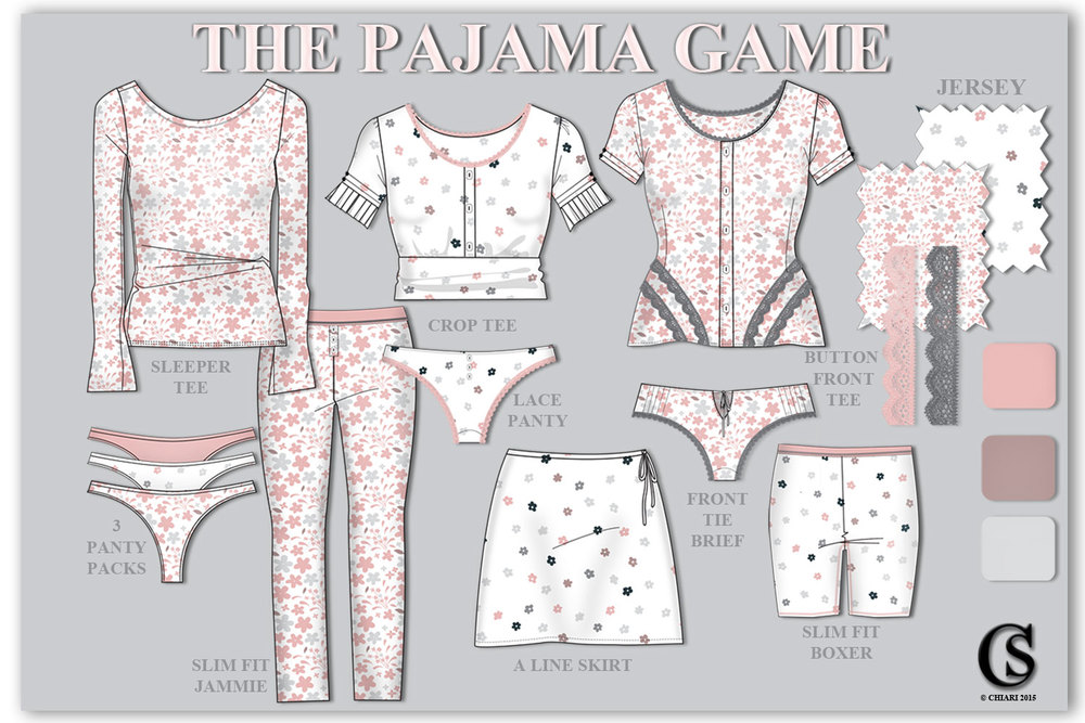 The Pajama Game CHIARIstyle
