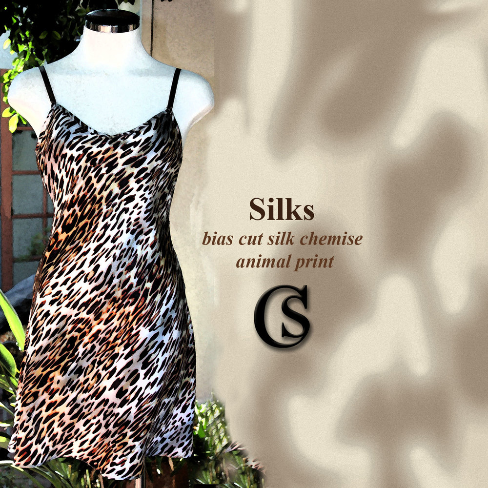 The Chemise Style line in animal print CHIARIstyle