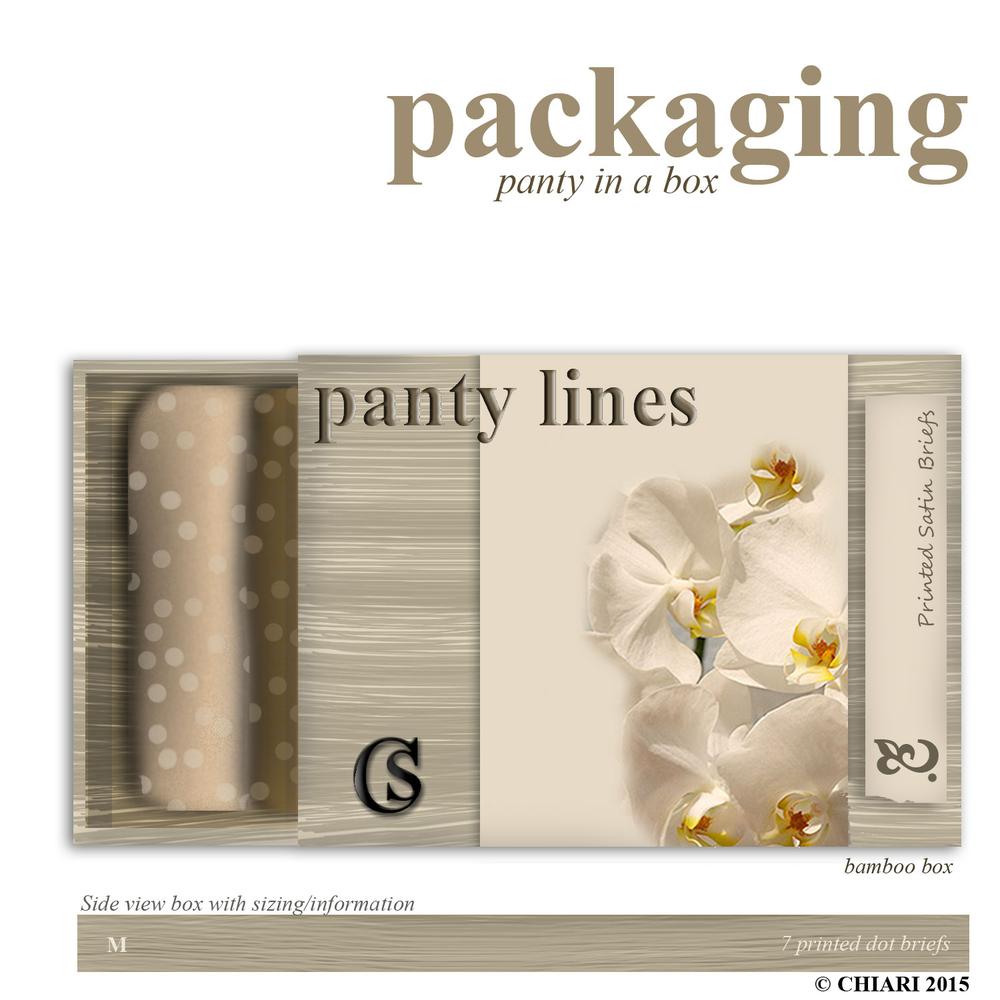 Packaging CHIARIstyle