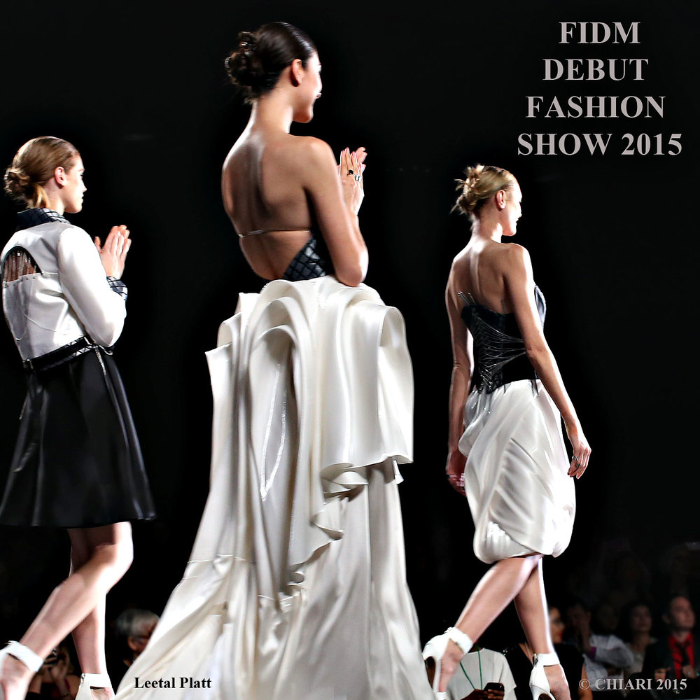 FIDM Debut fashion show 2015 CHIARIstyle