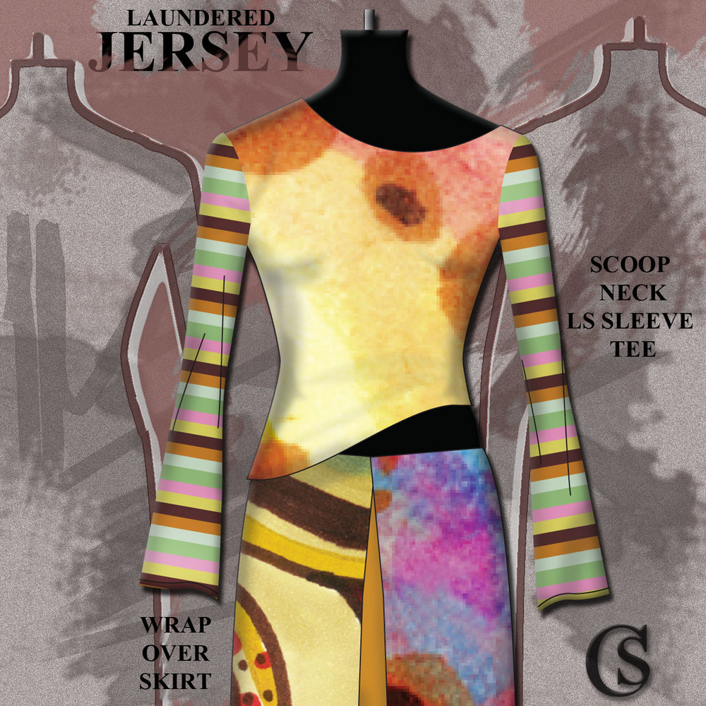 Go Bold with Jersey CHIARIstyle