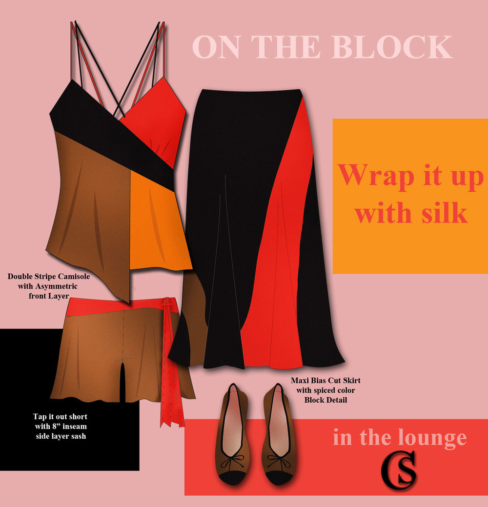 Wrap up some color blocking CHIARIstyle
