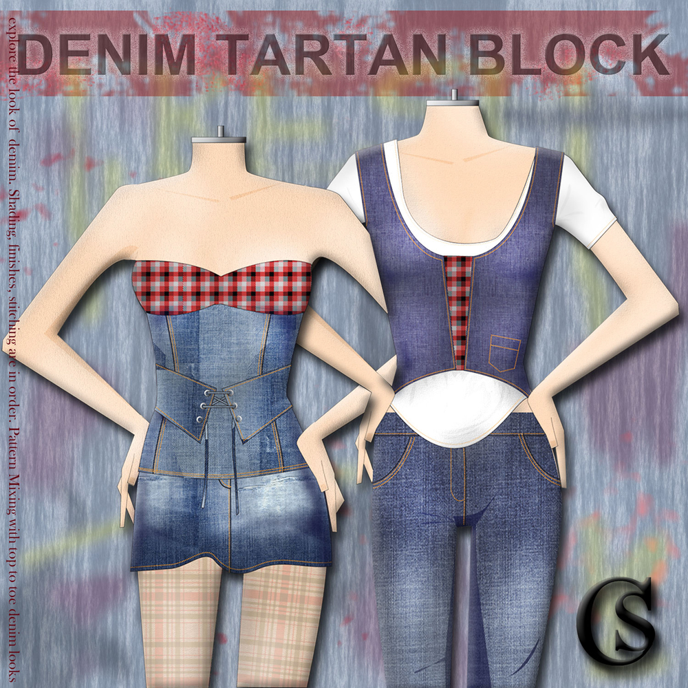 Denim Block CHIARIstyle 2015