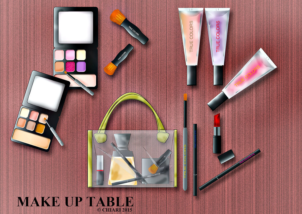 Make up Table CHIARIstyle