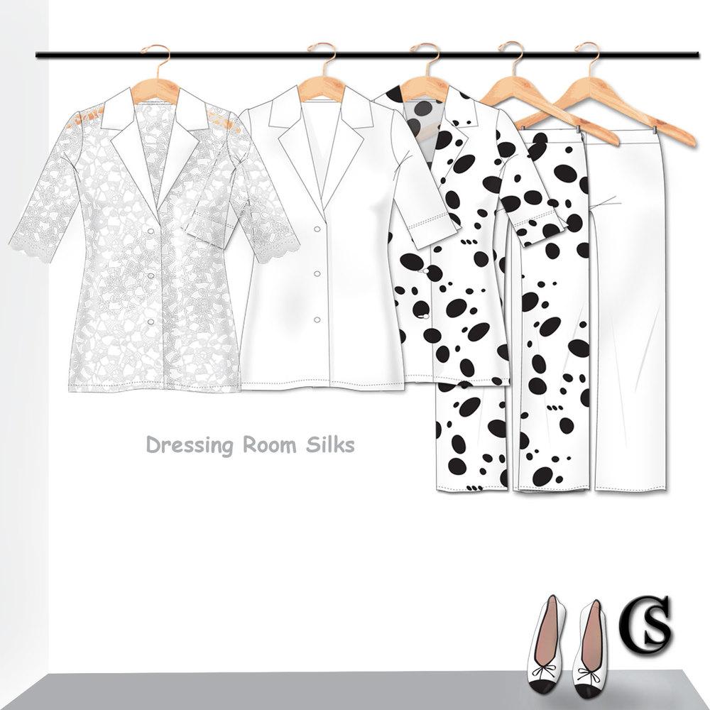 Dressing Room Silks CHIARIstyle