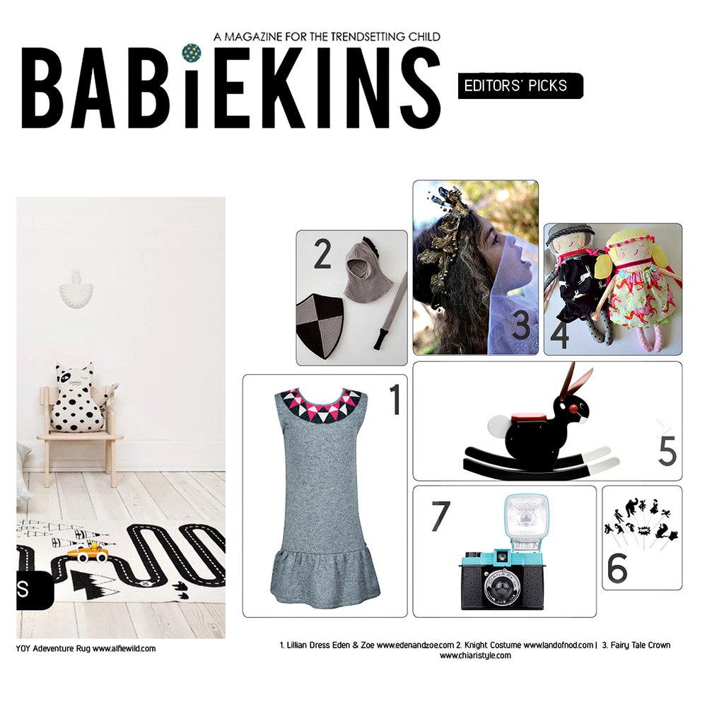 Babiekins Magazine Lace Crowns CHIARIstyle