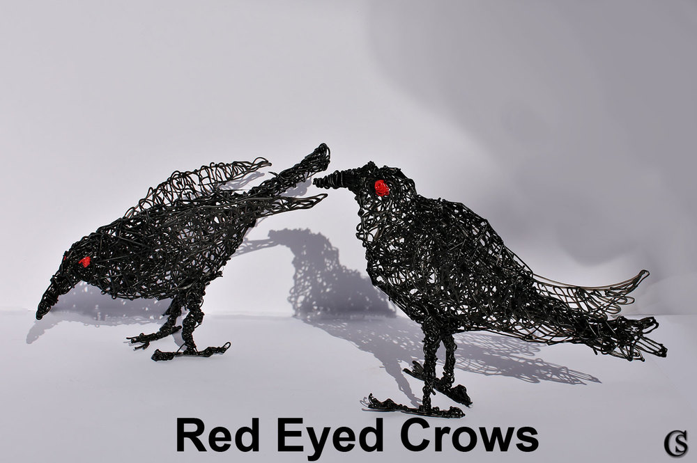 red eyed crows CHIARIstyle