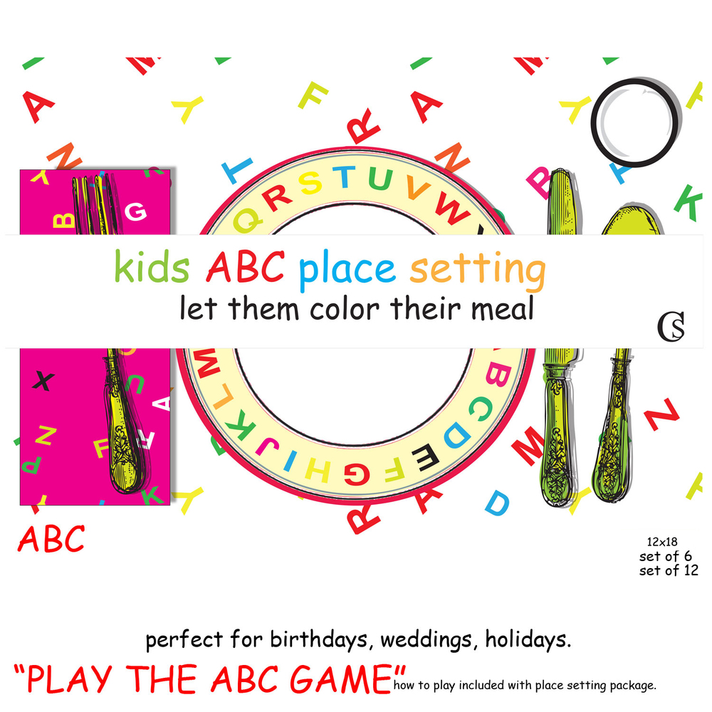 The ABC game CHIARIstyle