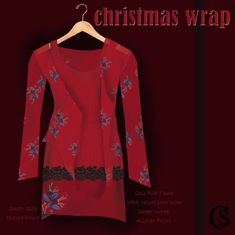 Christmas wrap CHIARIstyle