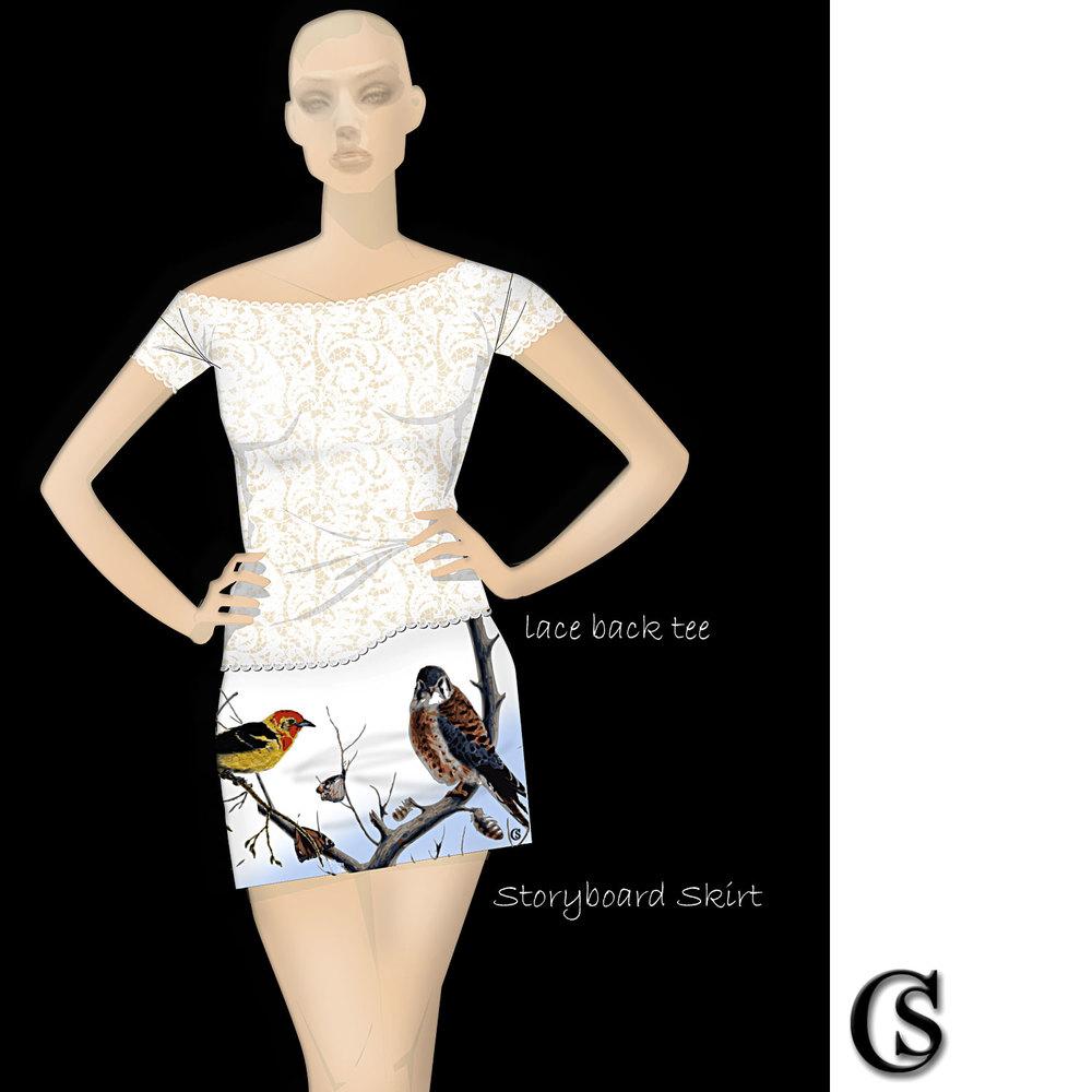 Storyboard Skirt CHIARIstyle