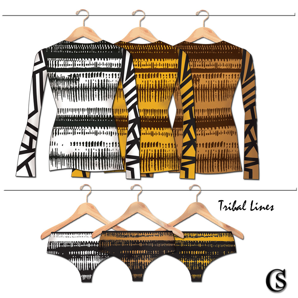 Tribal Lines CHIARIstyle