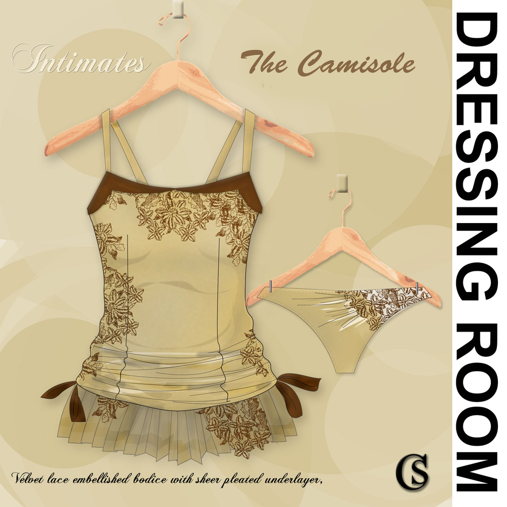 Dressing Room The Camisole in Renaissance. CHIARIstyle