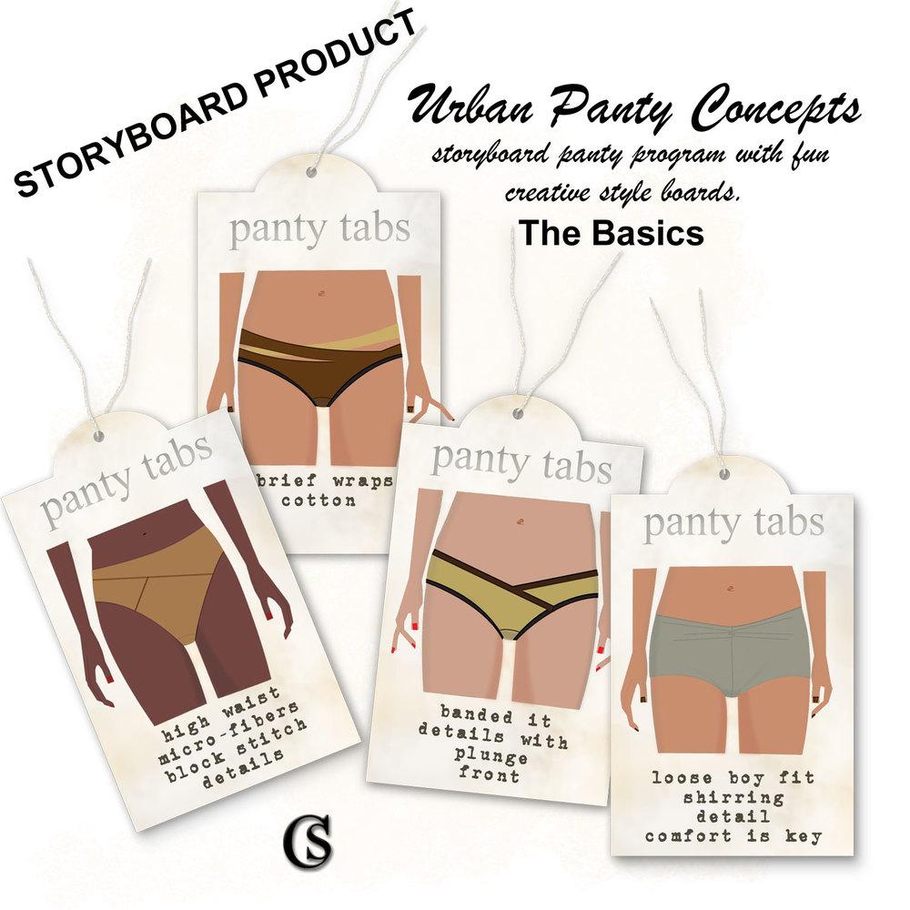 Storyboard Pantylines CHIARIstyle