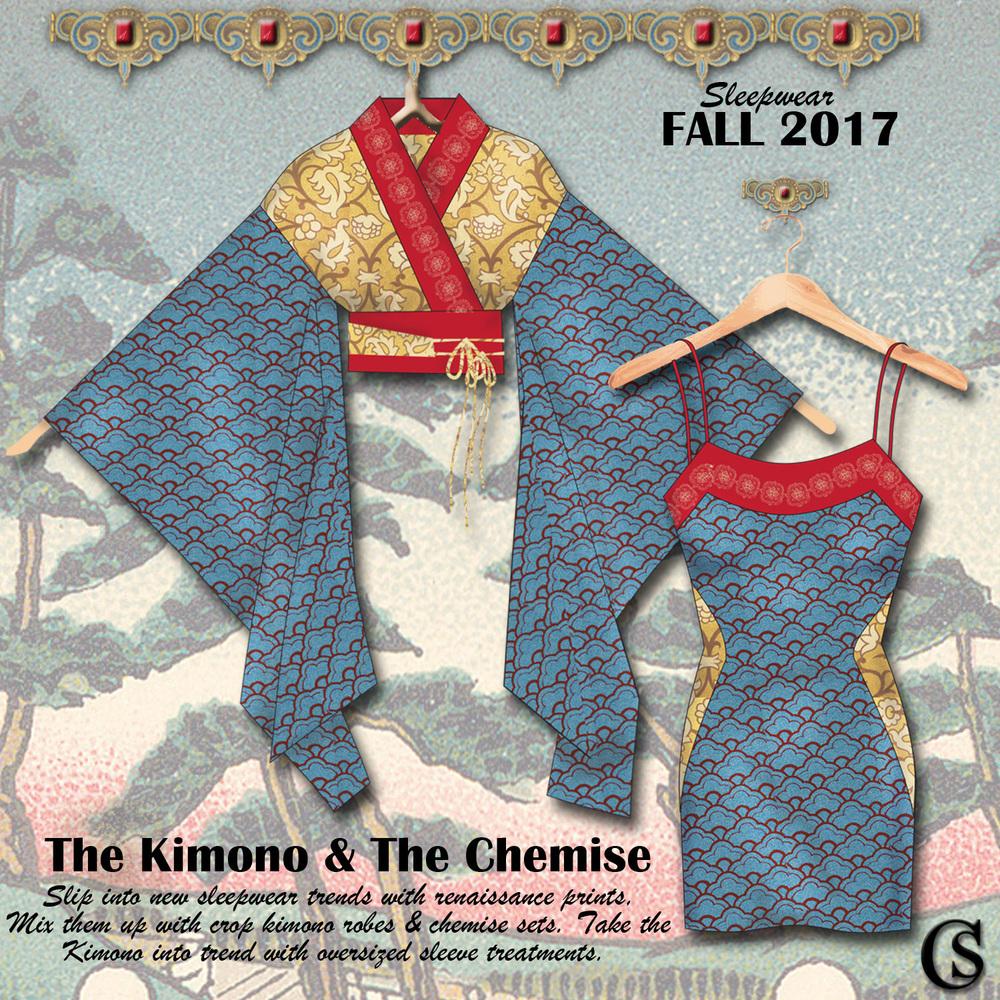 The kimono & The Chemise CHIARIstyle