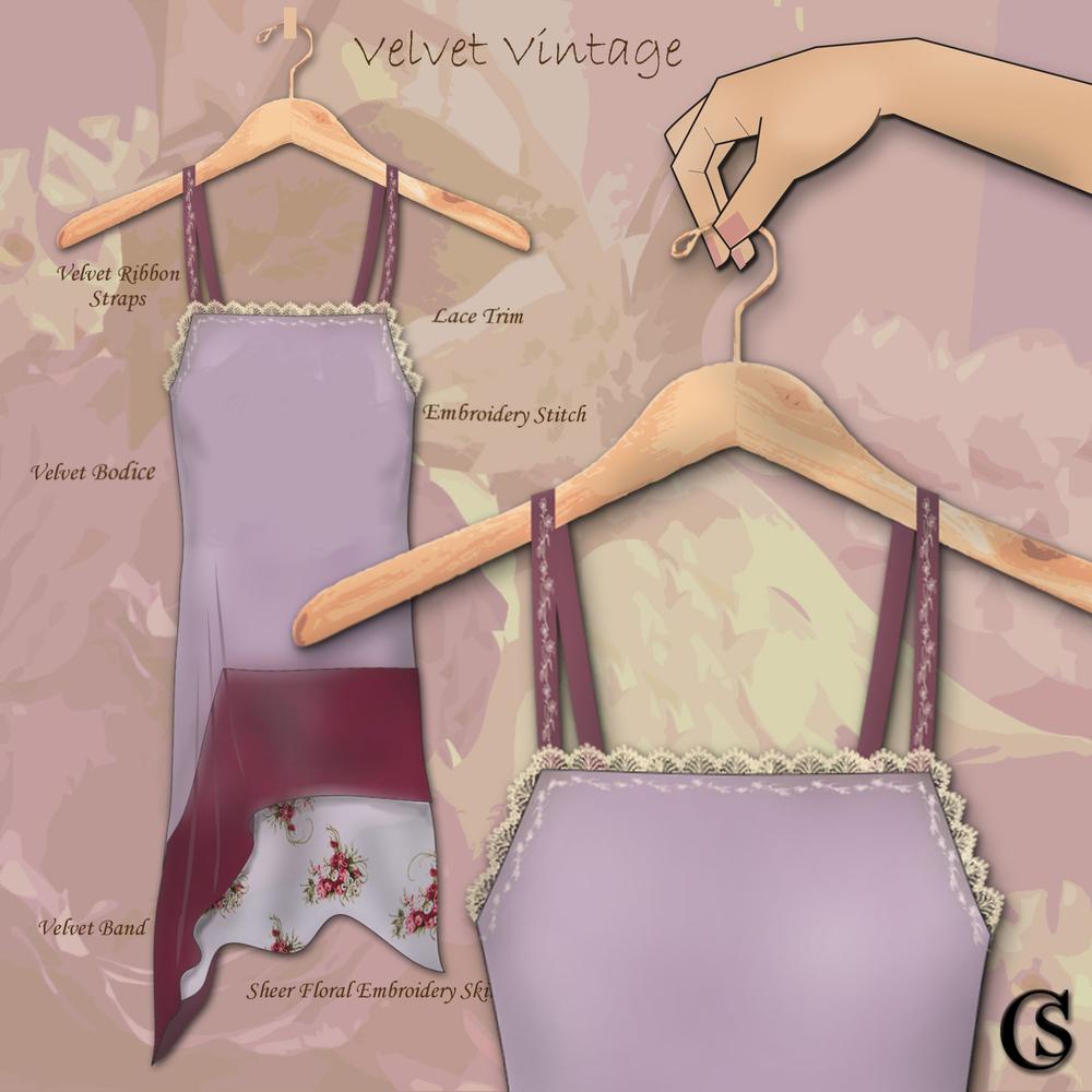 Velvet Chemise CHIARIstyle