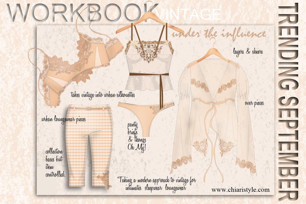 workbook vintage CHIARIstyle