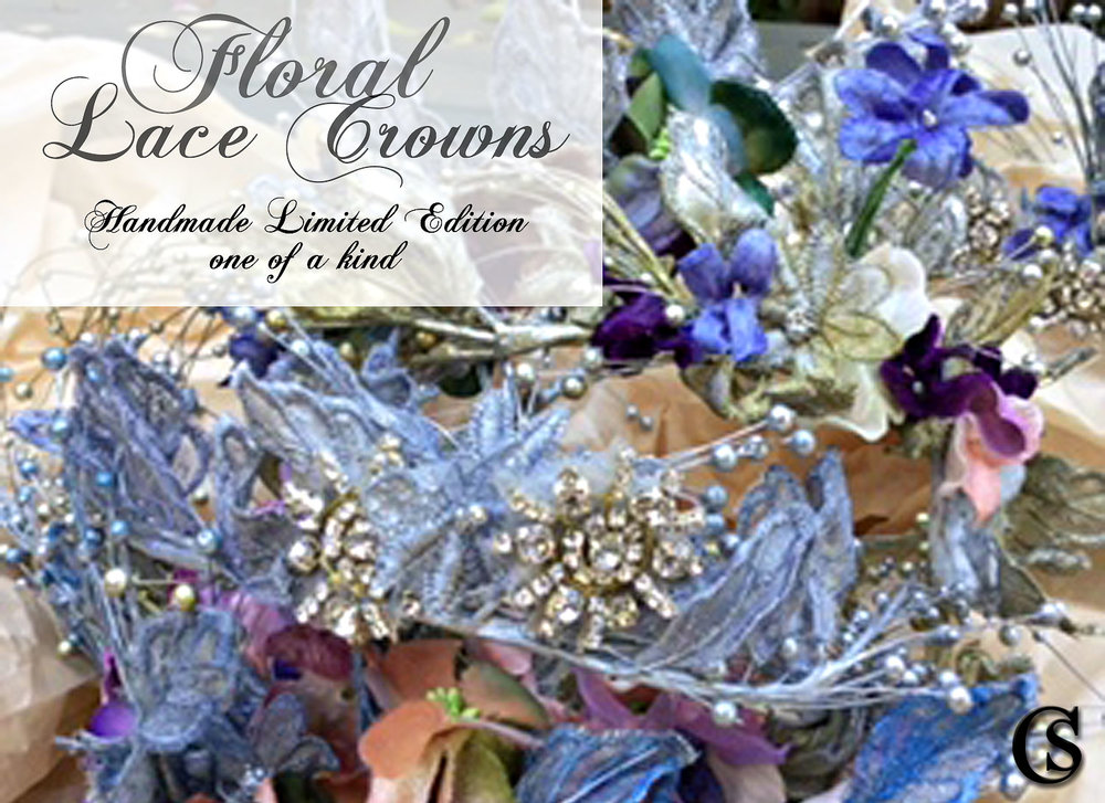 Floral Lace Crowns CHIARIstyle