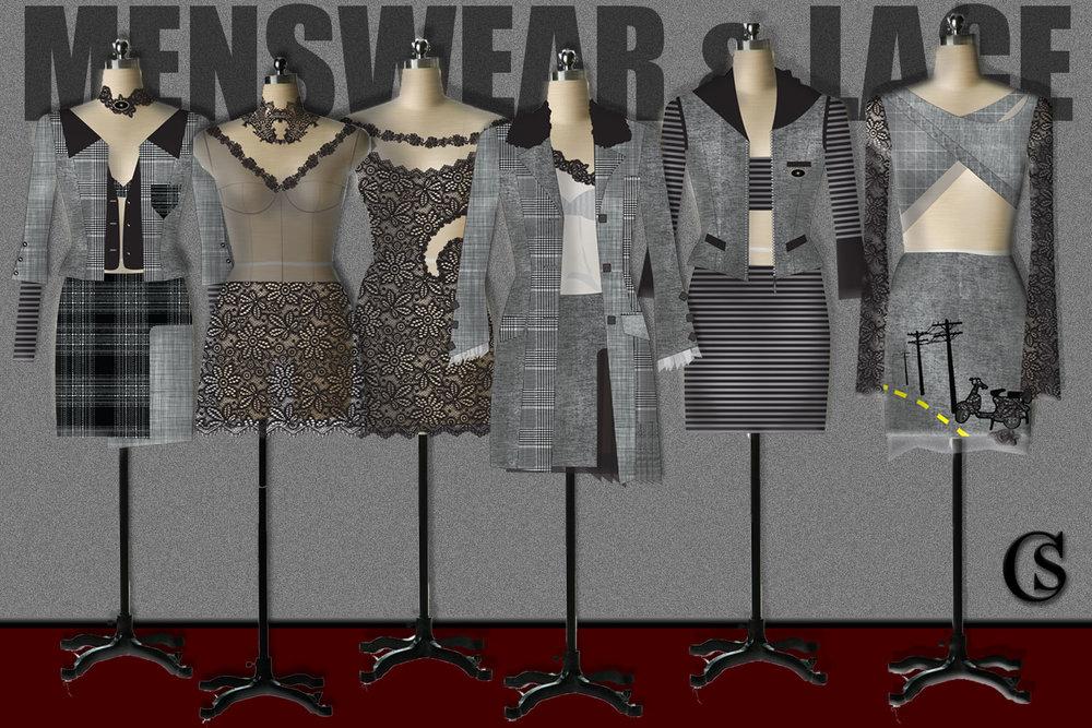Menswear & Lace CHIARIstyle