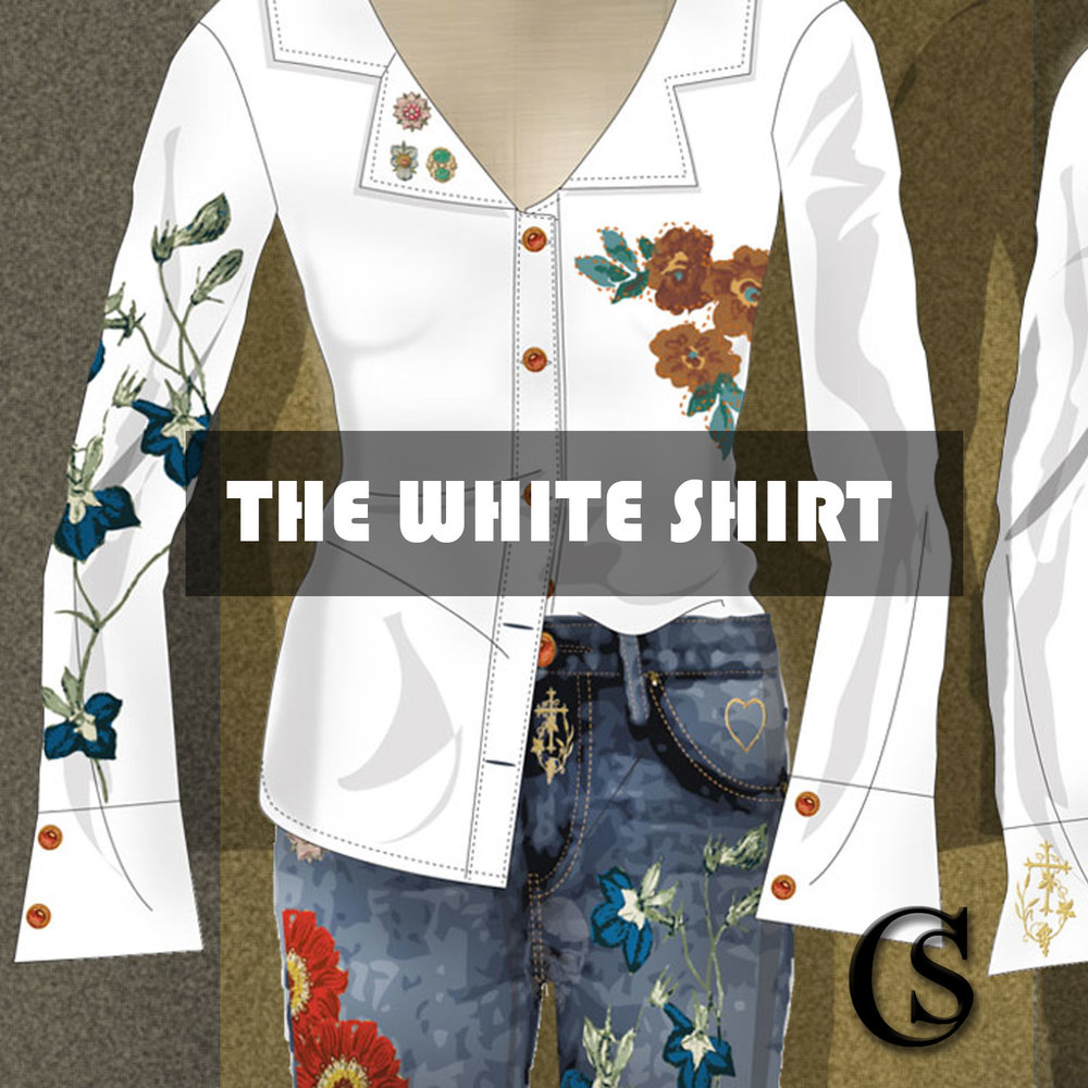 The white shirt CHIARIstyle