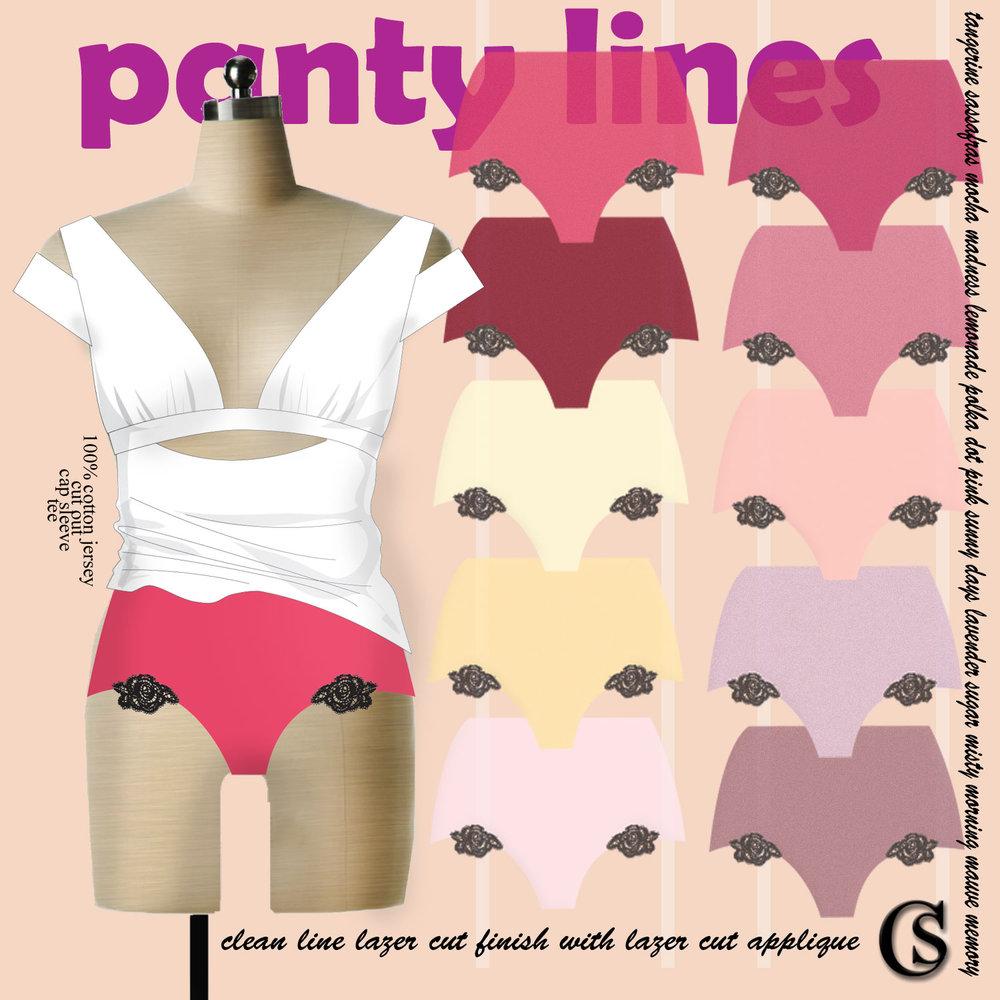 Lazer Cut Panty Lines CHIARIstyle