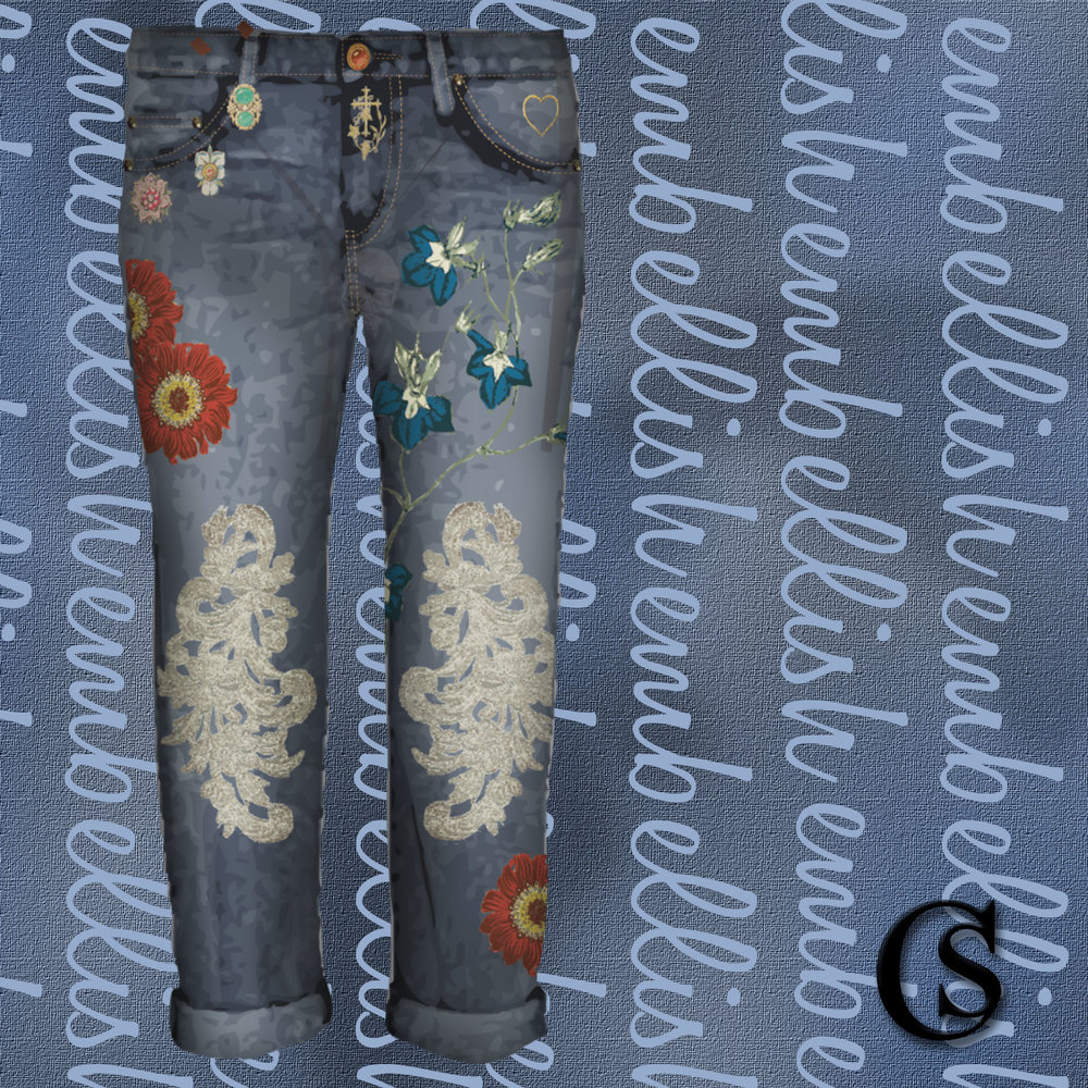 Embellished Denim CHIARIstyle
