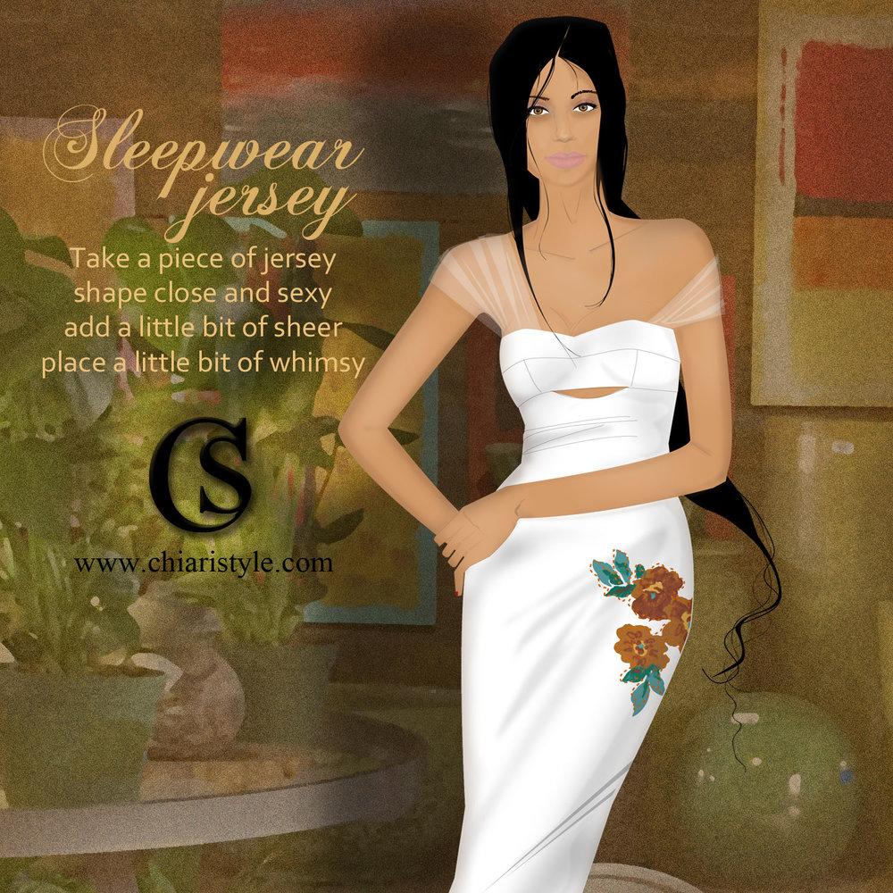 Sleepwear Jersey CHIARIstyle