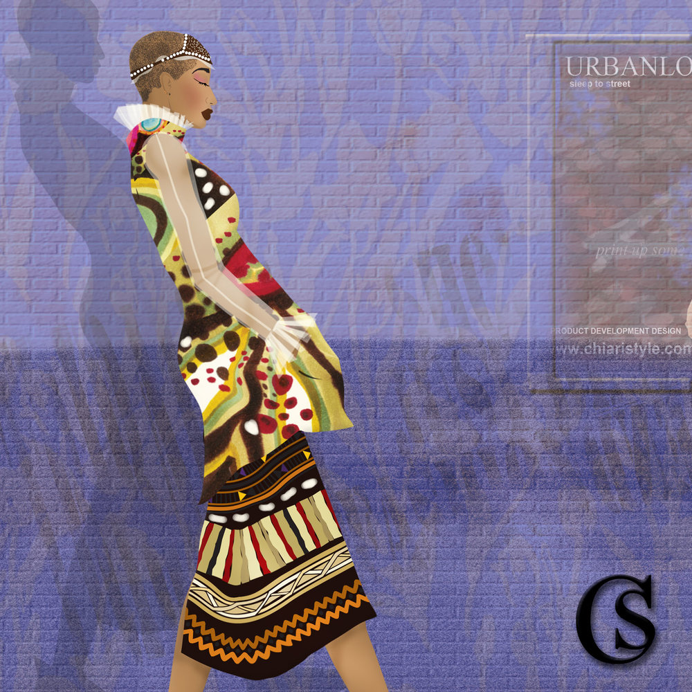 Tribal Prints go mainstream for 2018 CHIARIstyle