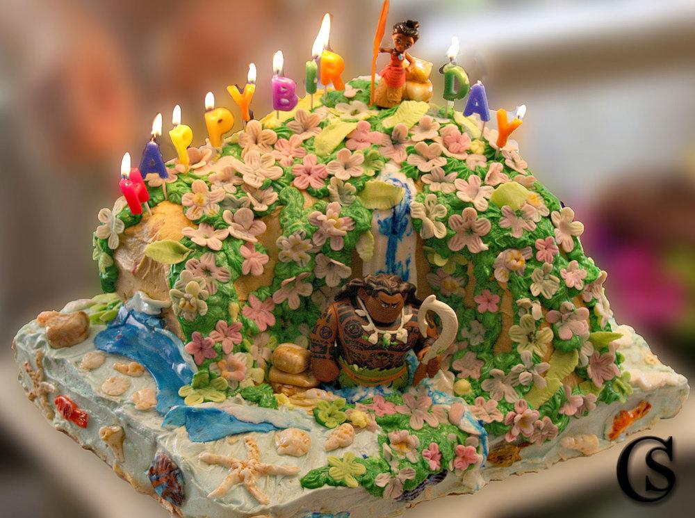 Mona Birthday Cake CHIARIstyle