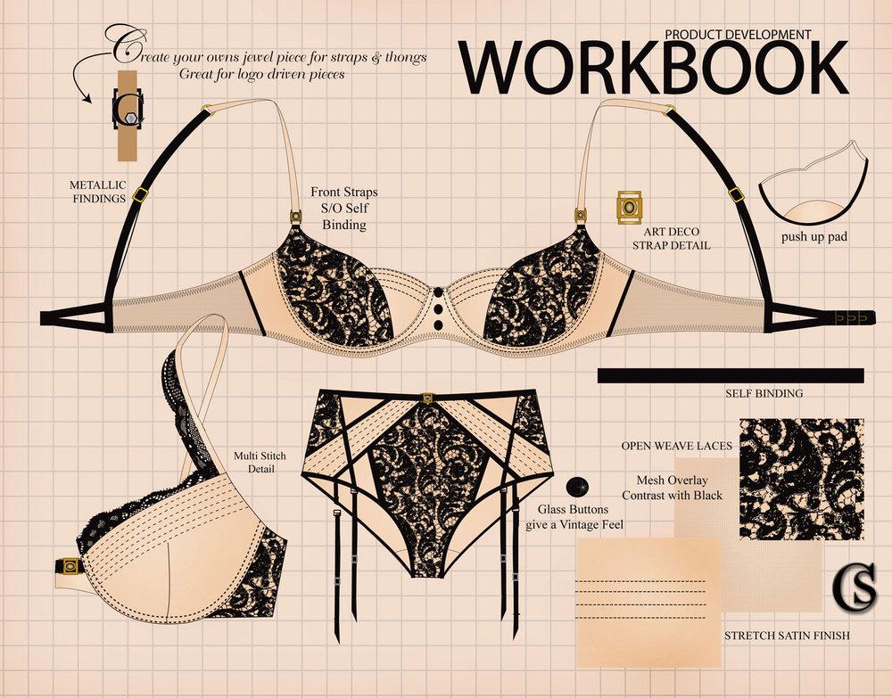Workbook lingerie CHIARIstyle