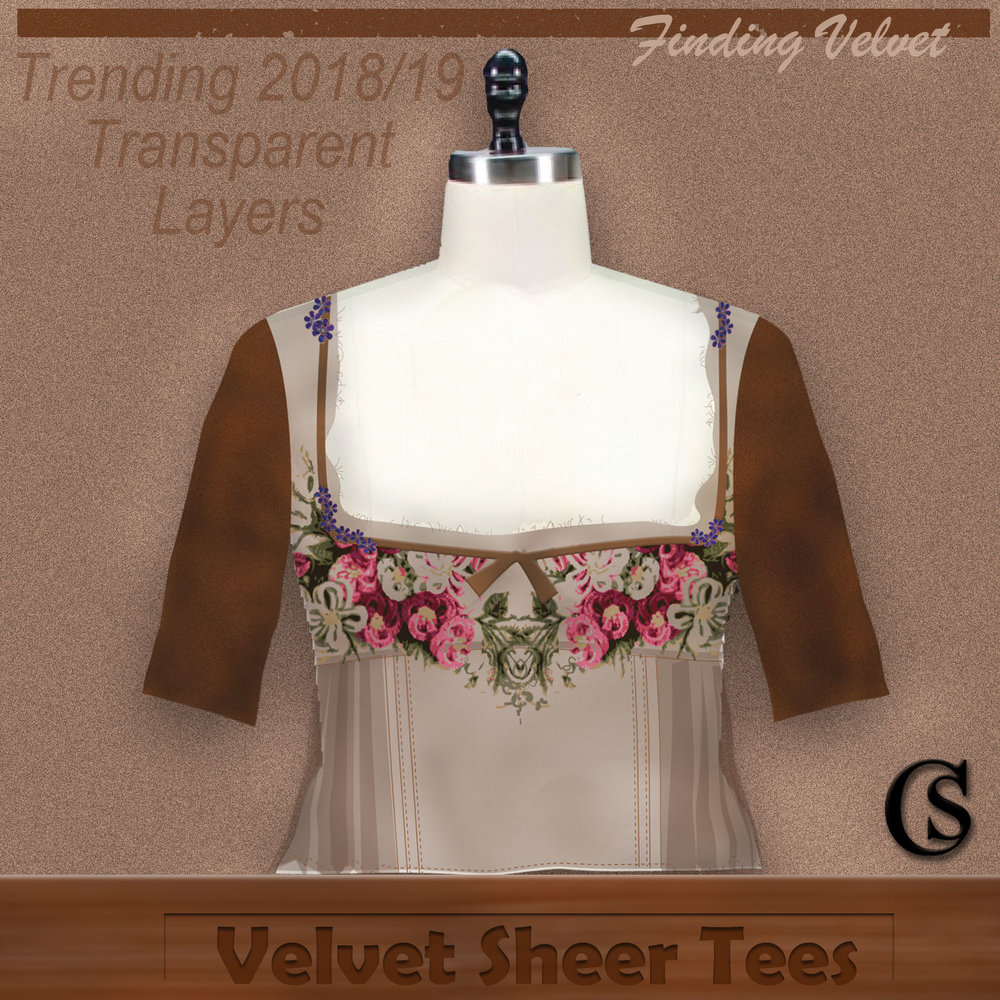 Trending 2018 with velvet layers CHIARIstyle