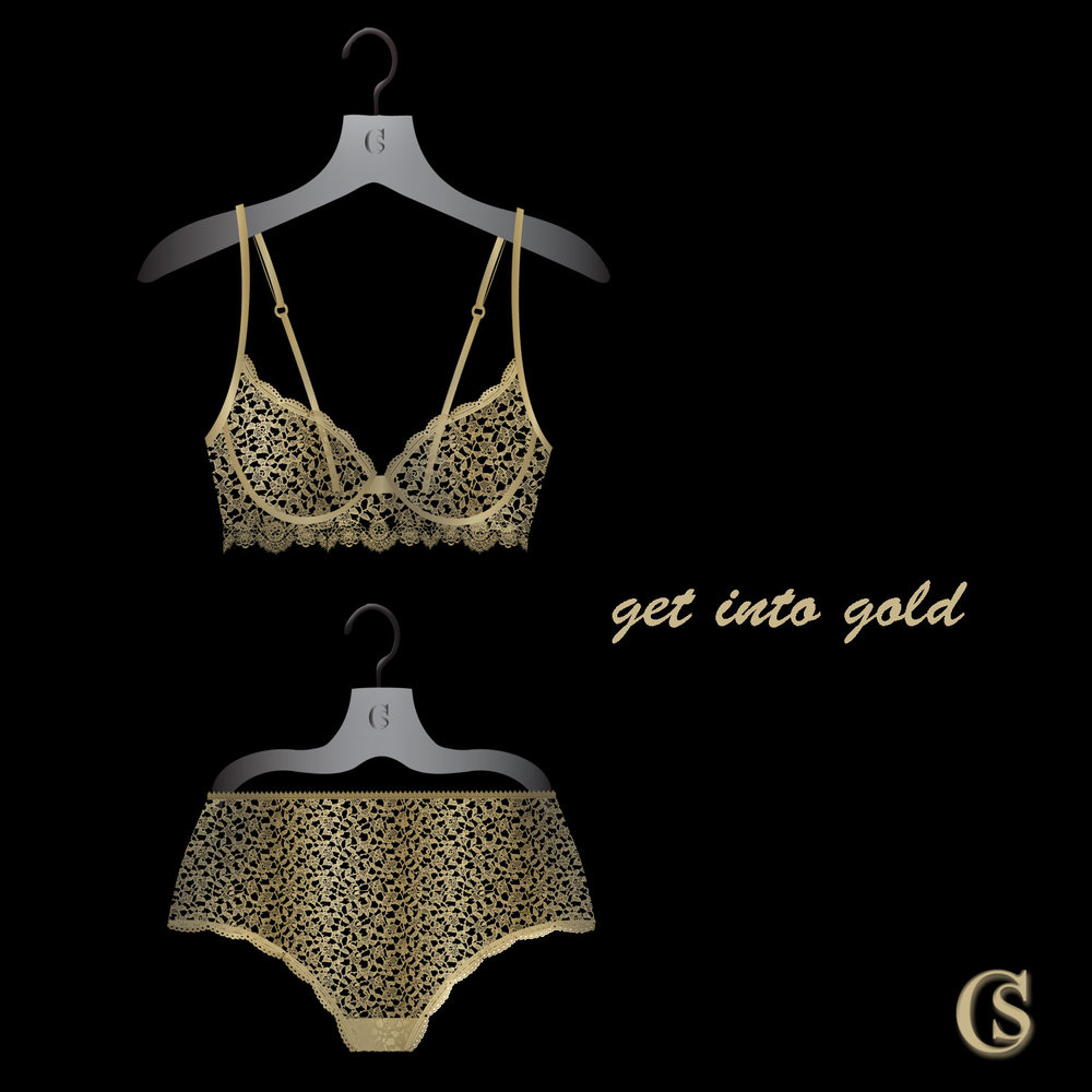 Intimates are golden at CHIARIstyle