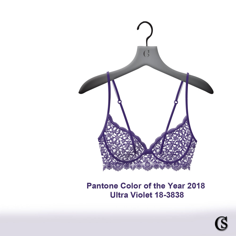 Pantone 2018 color of the year Ultra Violet 18-3838 CHIARIstyle
