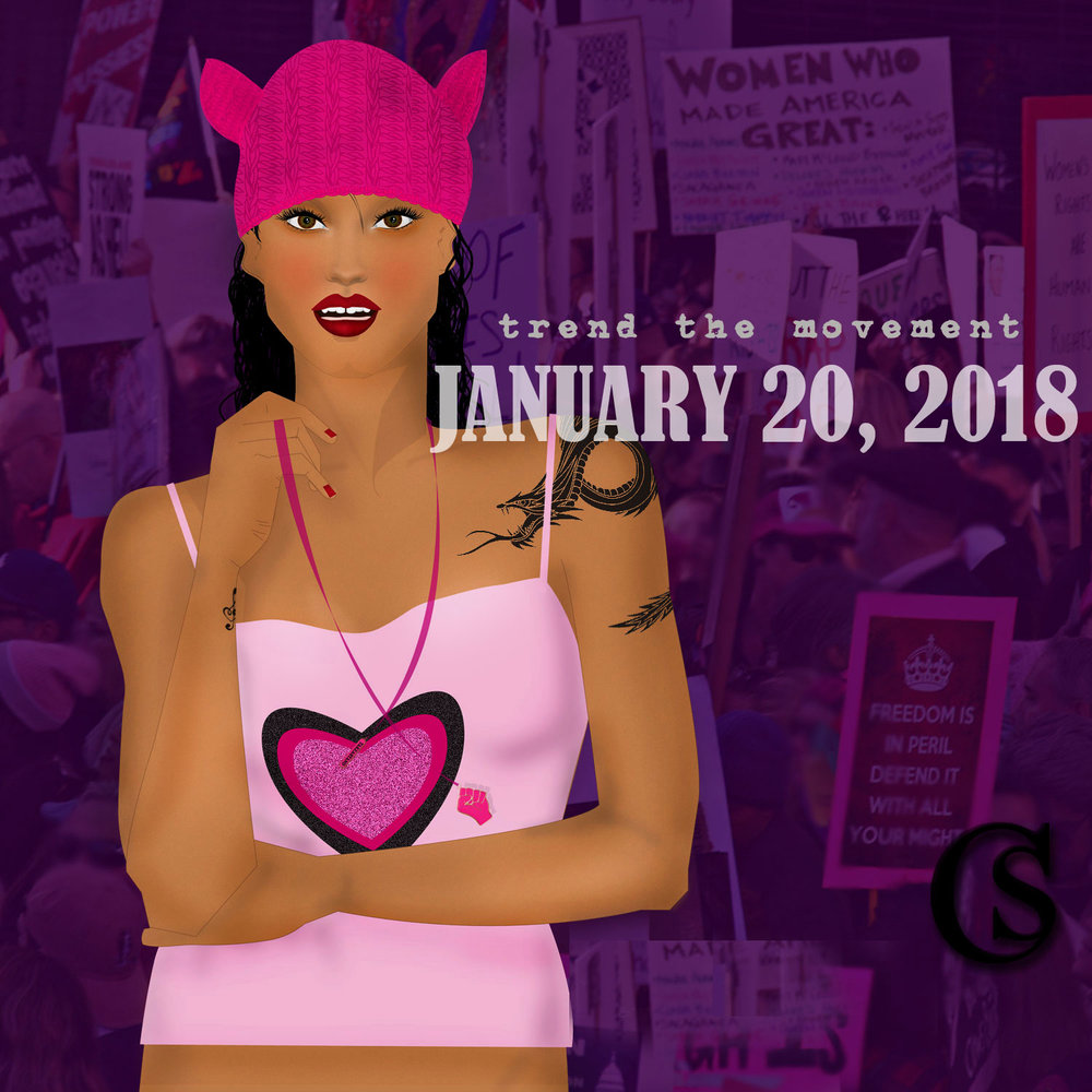 Women's march 2018 CHIARIstyle