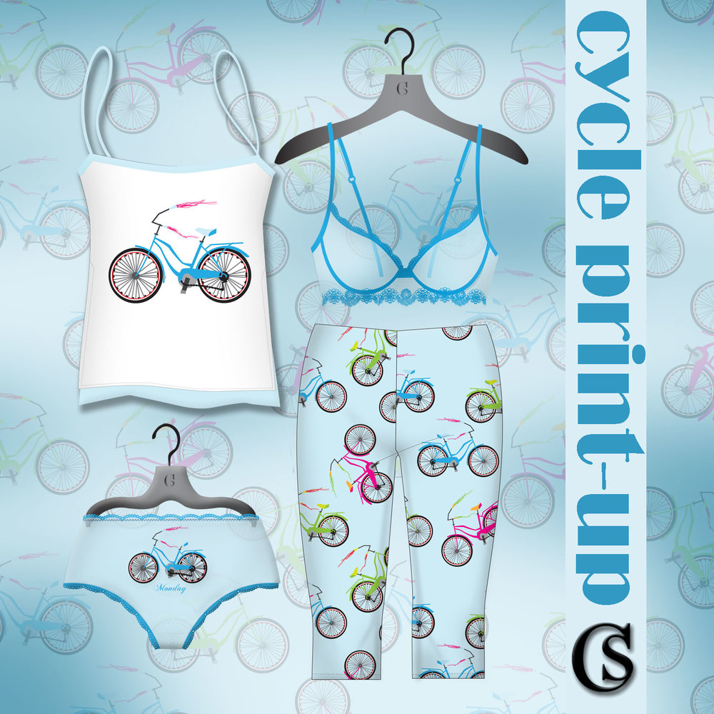 Conversational prints for sleepwear CHIARIstyle
