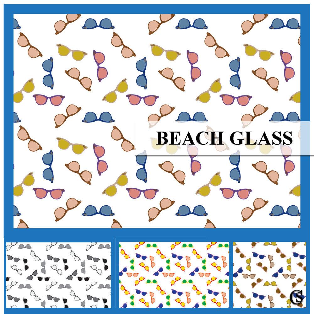 Beach glass print CHIARIstyle