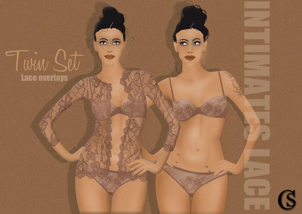Twin Sets CHIARIstyle Lingerie Trend 2020