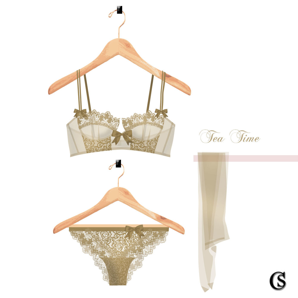 Tea Time CHIARIstyle lingerie concept design studio