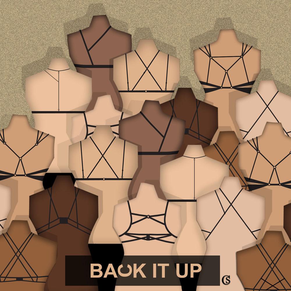 Lingerie Concept Design: Back it up! CHIARIstyle