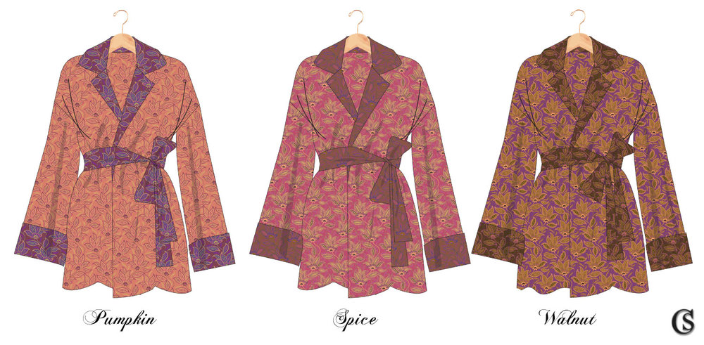 3 color ways Sleepwear CHIAIstyle
