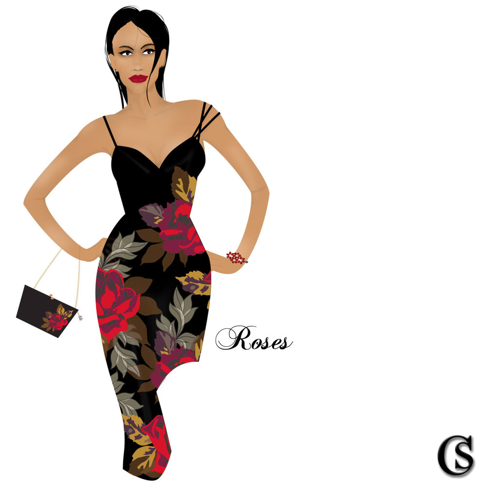Illustrated Fashion Concept