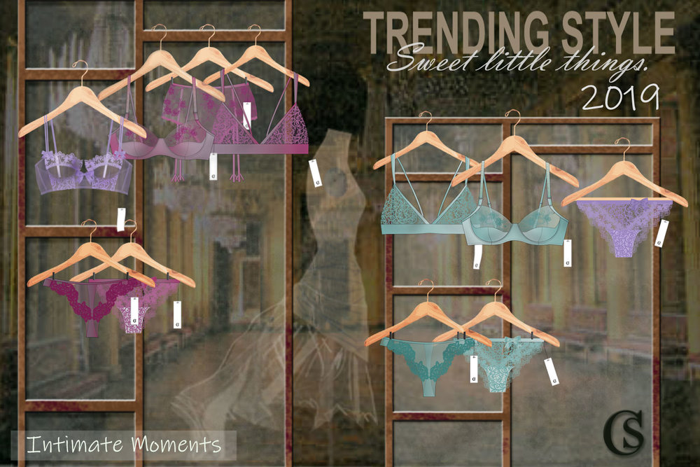 Lingerie design 2020 trends at CHIARIstyle