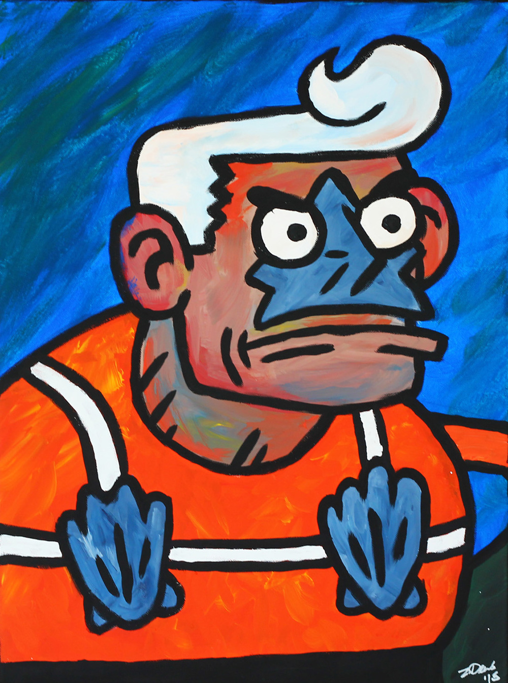 Mermaid Man (SOLD)