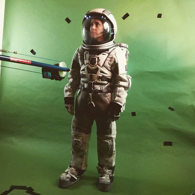 Interstellar eat your heart out. Made by the talented @cupcakequeenzance and yours truly #spaceman #spacesuit