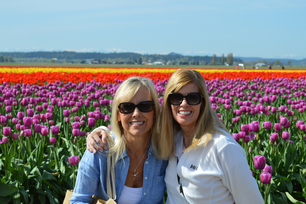 Karen and me...