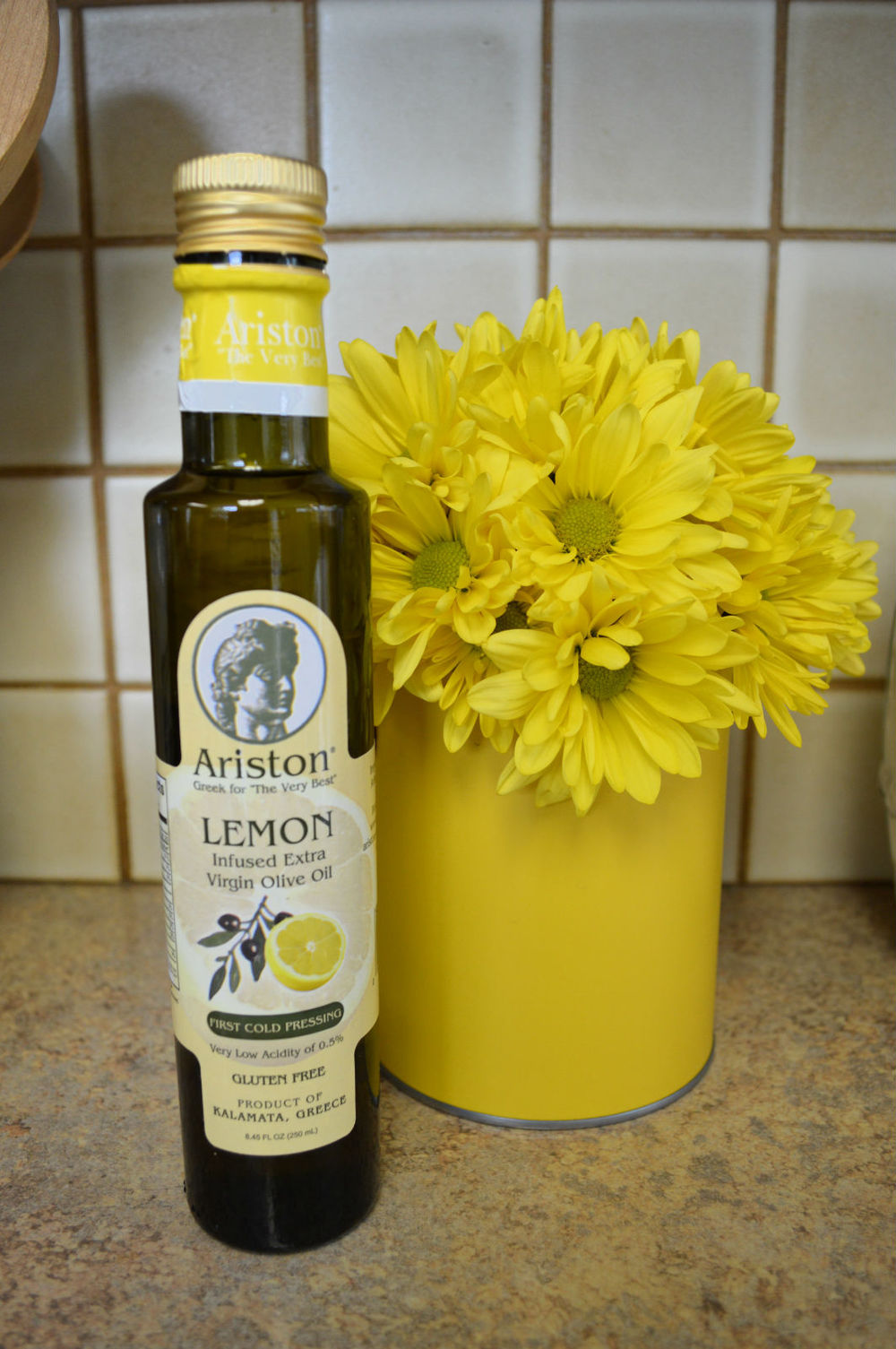 Lemon oil from Blanc and Rouge in Snohomish...