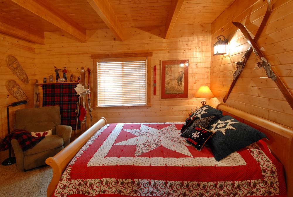 Ski room...