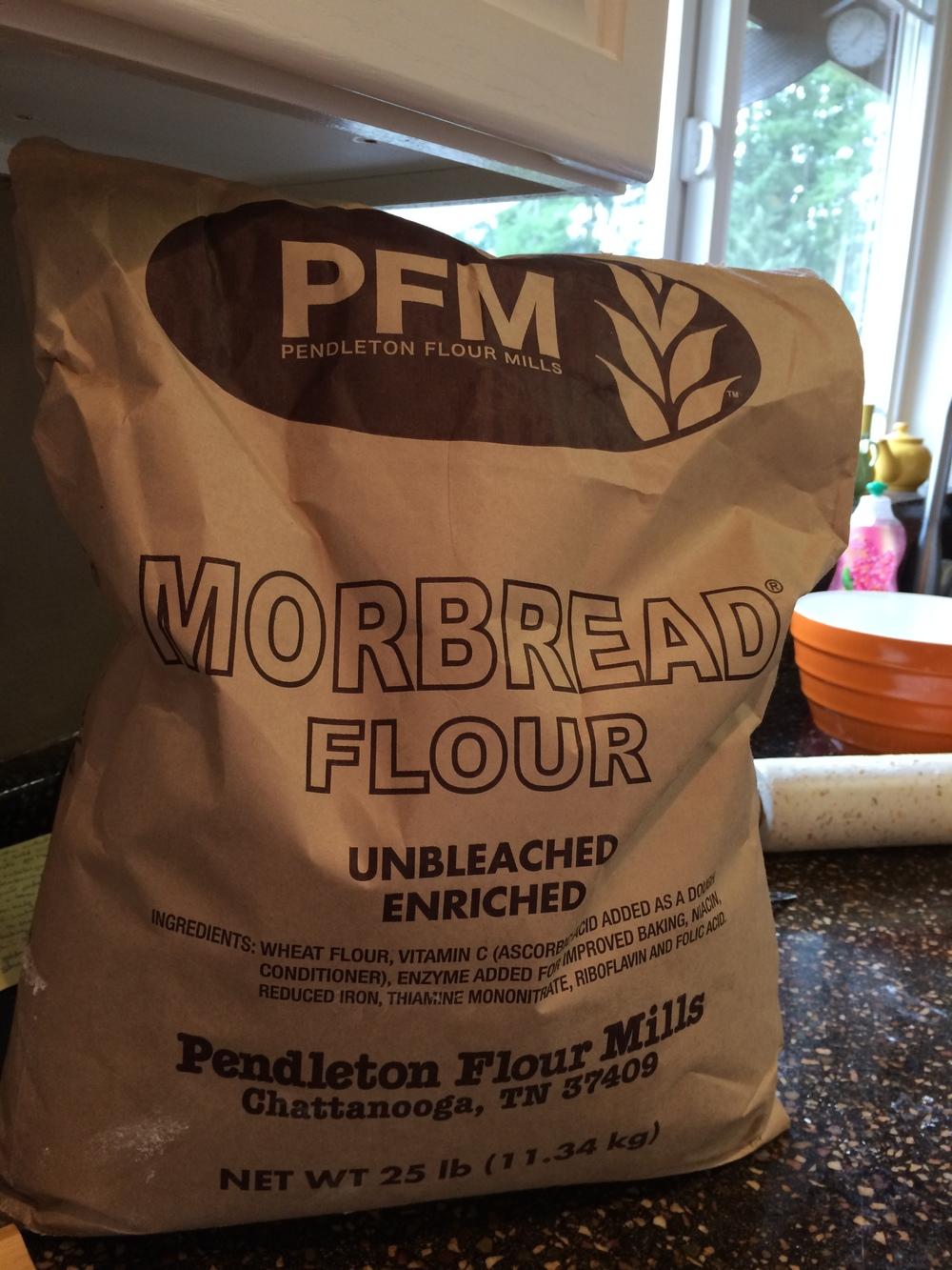 Lori's flour...
