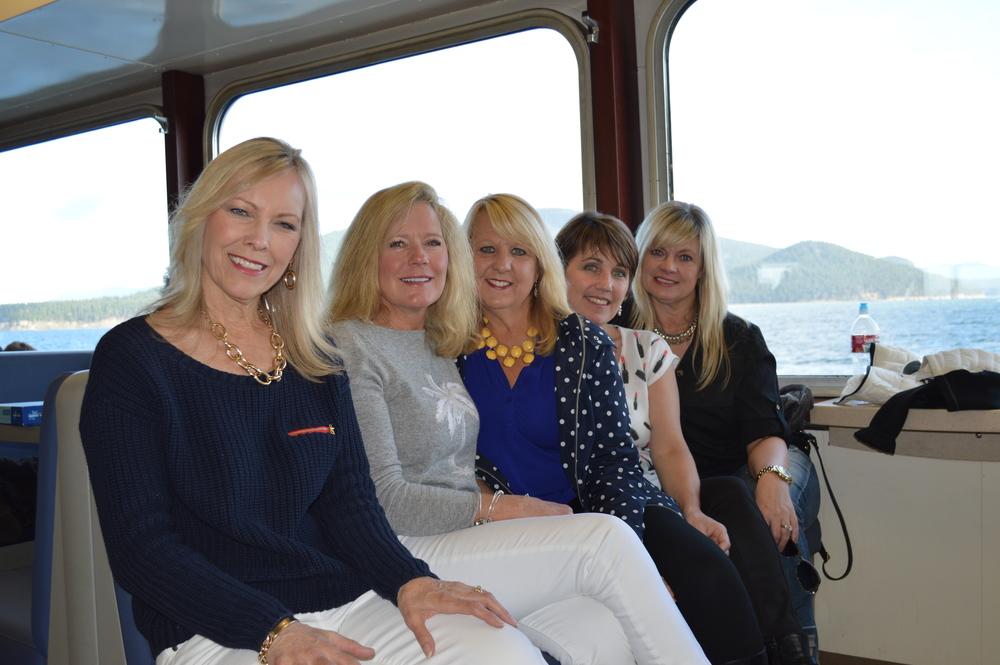 Gracia, Rhonda, Claire, MariLee, and Heidi