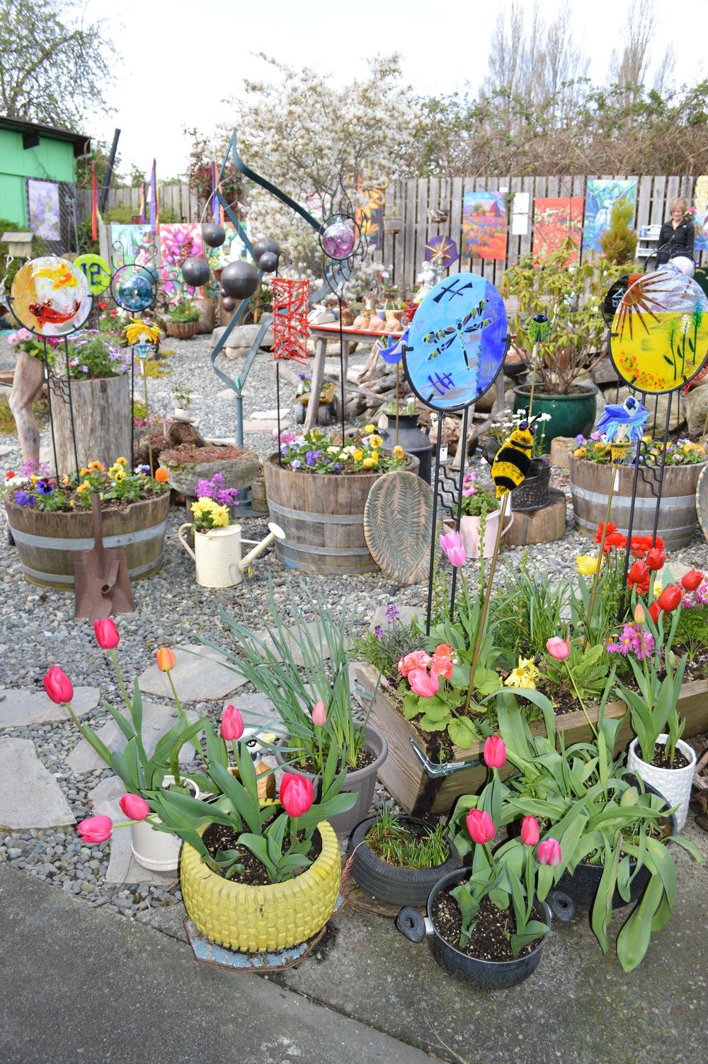 a funky garden shop...